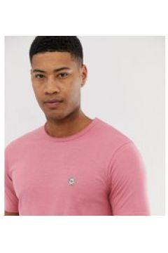 Le Breve Tall - Lang geschnittenes Shirt mit unversäuberten Kanten - Rosa(94965774)