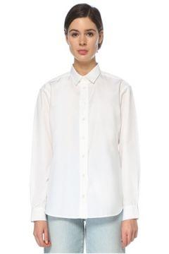 Toteme Kadın Beyaz İngiliz Yaka Gömlek S EU(126268284)