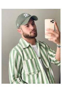 Weekday - Josh - Camicia a righe verdi-Verde(120275489)
