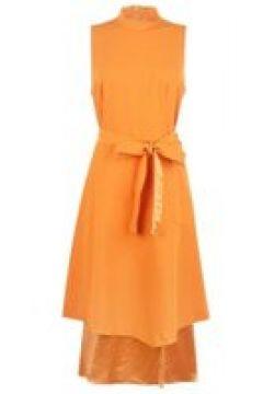 Hugo Ketha Dress - Orange 824(111095117)