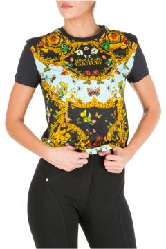 Women's t-shirt short sleeve crew neck round ladybug baroque(115854105)