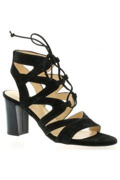 Sandales Brenda Zaro Nu pieds cuir velours(127910146)