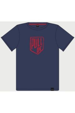 T-shirt Pull-in PULL IN T-SHIRT HOMME UNIT BLEU(115458250)