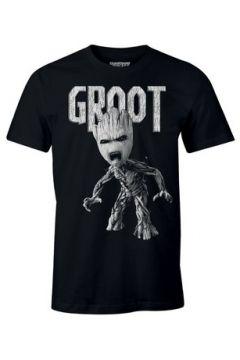 T-shirt Cotton Division T-shirt Les Gardiens de la Galaxie Marvel - Anger Groot(115446285)
