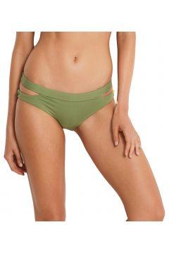 Bas de maillot de bain Seafolly Active Split Band Hipster - Olive Leaf(111331086)