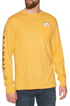 Rip N Dip Lord Nermal Langarm-T-Shirt - Gold(108484998)