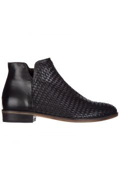Women's leather ankle boots booties kons(118072682)