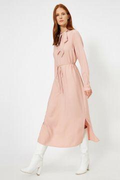 Koton Kadın Fular Detayli Maxi Elbise(113418496)