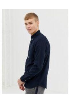 New Look - Camicia Oxford blu navy vestibilità classica(120261151)