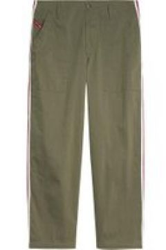 Tommy Jeans Tape Side High Rise Trousers - OLIVE TREE(109265637)