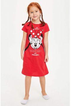 DeFacto Kız Çocuk Minnie Mouse Lisanslı Gecelik(119063337)