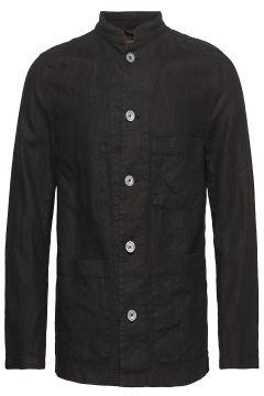 Hannu Shirt Jacket Hemdjacke Schwarz OSCAR JACOBSON(116950789)