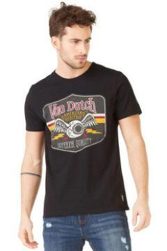 T-shirt Von Dutch T SHIRT GAS NOIR(127912645)
