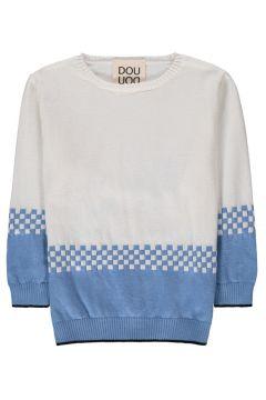 Zweifarbiger Pullover(113867541)