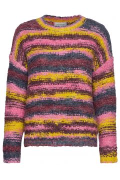 Dharia Knit Pullover Pullover Bunt/gemustert DENIM HUNTER(114151542)