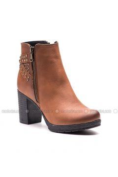 Tan - Boot - Boots - Esem(110336596)
