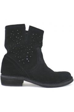 Bottines Cruz bottines noir daim AJ916(115400287)