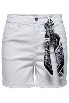 ONLY Schaldetail Shorts Damen White(110433289)