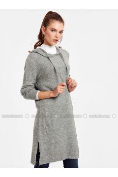 Gray - Tunic - LC WAIKIKI(110321832)