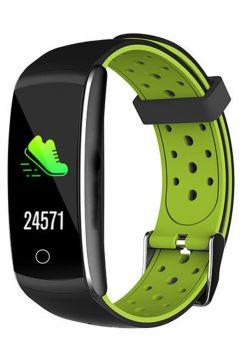 Everest Ever Fit W49 Android/IOS Smart Watch Kalp Atışı Sensörlü Yeşil/Siyah Akıllı Bileklik Saat(105146077)
