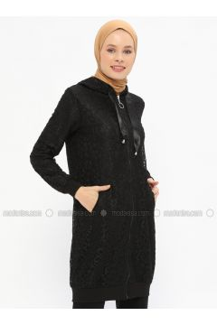 Black - Fully Lined - Topcoat - Nefise(110320784)