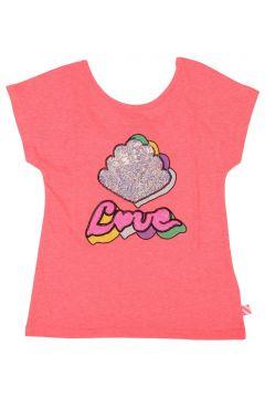 T-Shirt mit Pailletten Love(113871619)