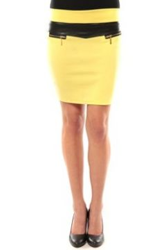 Jupes Nina Rocca Jupe J.X Fashion Jaune(127874322)