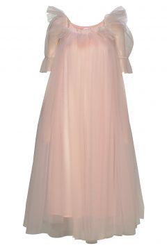 Leelo Dress Kleid Knielang Pink IDA SJÖSTEDT(115556454)