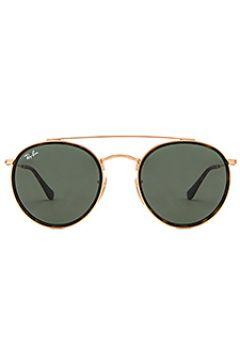Круглые солнцезащитные очки с двойной перемычкой - Ray-Ban(104692243)