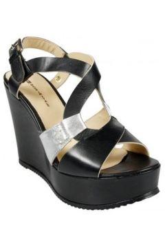 Sandales A m Sandales Princess Noir / Argent(127981050)