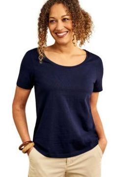 T-shirt Woolovers T-shirt à encolure dégagée et manches courtes Femme Jersey(115541551)