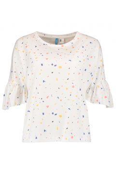 T-Shirt à Manche Courte Femme O\'Neill Lw Ocean Mission - White Red(117375087)
