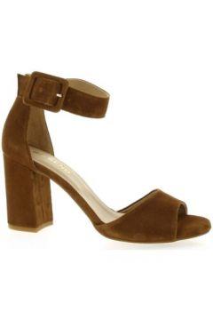 Sandales So Send Nu pieds cuir velours(127910157)