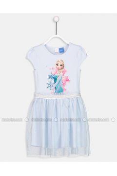Blue - Kids Nightgowns - LC WAIKIKI(110343401)