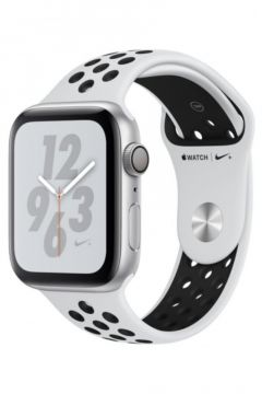 Apple Watch NikeSeries 4 Gps, 40mm Silver Aluminium Case With Pure Platinum/black Nike Sport Band(122930038)