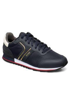 Parkour_runn_strb Niedrige Sneaker Blau BOSS BUSINESS WEAR(99731988)