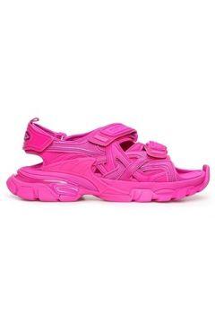 Balenciaga Kadın Track Şeftali Sandalet Sneaker Pembe 36 EU(118330047)