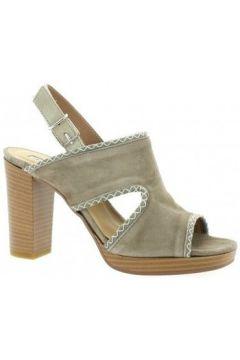 Sandales Donna Più Nu pieds cuir velours(127909027)