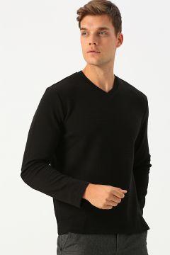 Cotton Bar SİYAH Sweatshirt(113985396)