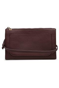 Carol Leather Mini Bag Bags Small Shoulder Bags - Crossbody Bags Rot FILIPPA K(118612966)
