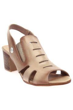 Mammamia Bej Faber Kadın Sandalet(110967989)