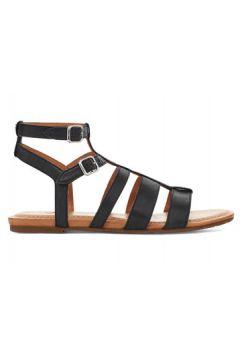 UGG Mahalla Sandalen für Damen aus Leder in Schwarz Größe 36(125159309)