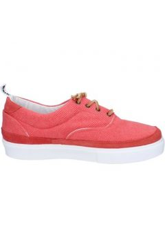 Baskets Bark sneakers rouge corallo textile daim AG586(115393488)