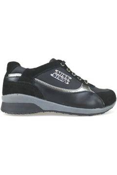Chaussures enfant Miss Sixty sneakers noir daim cuir AJ937(88519826)