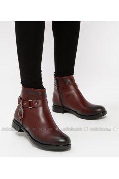 Maroon - Boot - Boots - Snox(110318973)