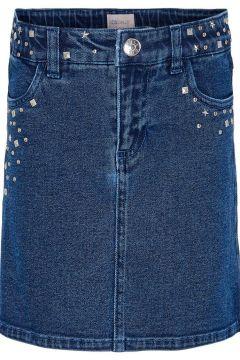 ONLY Clous Jupe En Jean Women blue(117460264)
