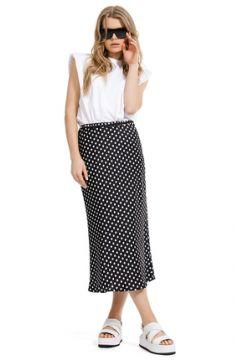Комплект юбочный PIRS 1269 черно-белый(117354576)