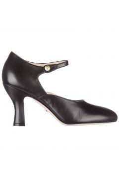 Women's leather pumps court shoes high heel malga kid(118299648)