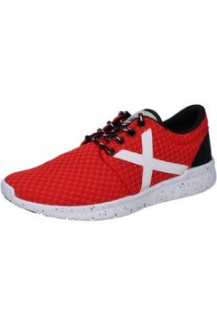 Chaussures Munich sneakers rouge textile AB787(115393861)