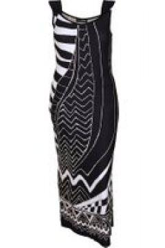 Jerseykleid mit Allover-Print Doris Streich Bast(111506884)